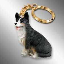 Welsh Corgi Cardigan Dog Tiny One Resin Keychain Key Chain Ring