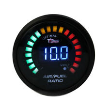2'' 52MM 20 LED DIGITAL CAR AUTO AIR / FUEL RATIO MONITOR RACING GAUGE ANALOG
