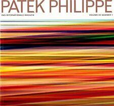 Patek PHILIPPE MAGAZINE Magazin volume III n # 1 un finché Tedesco Deutsch NUOVO