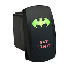 Rocker Switch 6B34GR Laser BAT LIGHT dual LED green red marine boat waterproof
