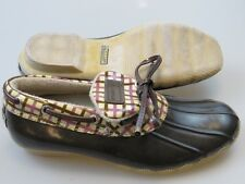 Sperry Top-Sider Low Waterproof Rubber Duck Boots/Shoes Womens Size 7