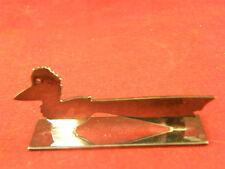 Repose Couteau Animalier en Argent Plaqué Yorel France Silver Silber Oiseau