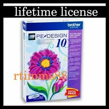 Brother PE Design 10 Embroidery ? Full Software 2020 Lifetime license