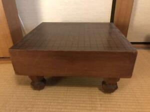 Japanese Go-board Goban IGO with legs board game collection goods antique #67