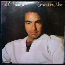 NEIL DIAMOND - SEPTEMBER MORN VINYL LP U.S. PRESSING
