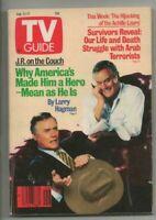 ORIGINAL Vintage February 11, 1989 TV Guide Magazine Larry Hagman Dallas JR