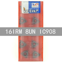 ISCAR 16IRM 8UN IC908 Threaded blade Carbide Inserts 10Pcs
