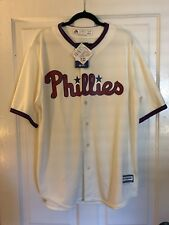 f67e2f355 Majestic Philadelphia Phillies Cool Base Jersey XL Era Cap Hat 7 3 8