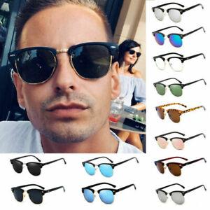Polarized Vintage Sunglasses Pilot Men Women Outdoor Glass Driving Eyewear UV400