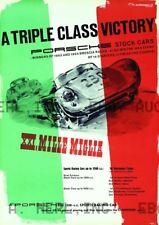 Porsche 1954 Mille Miglia Italian Road race Victory ca 8 x 10 print prent poster