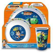 Rusty Rivets Dinner Set Brandneu Geschenk