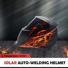 Solar Auto Darkening Welding Helmet Flames Arc Grinding Welder Mask