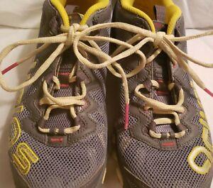 Adidas Vigor TR III 3 Gray Yellow Trail Running Hiking Shoes Size 10 G66062 Wmen