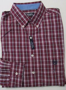 MARKDOWN SALE NWT Chaps  Button Down Casual Shirt Easy Care Sizes S M L XL