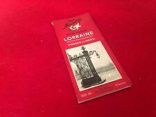Guide du pneu Michelin Guide Régional Lorraine Vosges du Nord (1935-36)