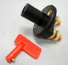 Engine Master Kill Battery Disconnect Cutoff Switch RV Marine Removeable Key