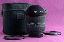 Sigma EX 10-20mm F/4.0-5.6 HSM DC EX Lens For Nikon - SUPERB 1921D