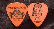 WHITESNAKE 2008 Bad Tour Guitar Pick!!! REB BEACH custom concert stage Pick #2