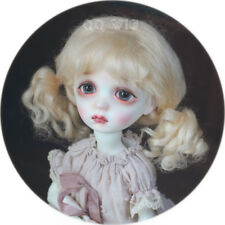 QQ-41C Light Gold Color BJD Doll Mohair Wig {Dolly Planet} 1/8;1/6 ;1/4 ;1/3