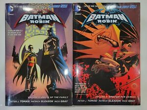 Batman and Robin - DEATH OF THE FAMILY 3, REQUIEM FOR DAMIAN 4 - Graphic Novels