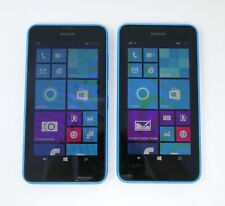 "Lot of 2 Working Nokia Lumia 635 4.5"" Windows Mobile Smartphones"