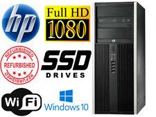 HP Compaq Elite 8300 MT i7 3.40GHz 16GB RAM 120GB SSD+1000GB Win10 WIFI