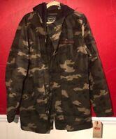 Levis Men's Cotton Washed Fishtail Parka Jacket Camo (NWT) (XL)