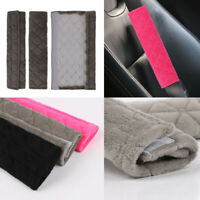 2x Car Safety Seat Belt Shoulder Pads Cover Cushion Harness Comfortable Pad Soft