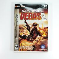 Tom Clancy's Rainbow Six Vegas 2 (PC: Windows, 2008) PC DVD-ROM