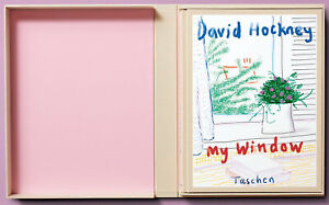 David Hockney My Window Collector's Edition Limited to 1000 Copies Signed