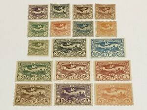 old stamps  UPPER SILESIA    x  17  MH