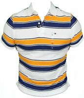 New Tommy Hilfiger Mens Polo Shirt in Flame Orange Colour Size S