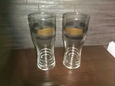 NEW 2 X  MAGNERS CIDER PINT GLASSES CE MARKED PUB/BAR/MANCAVE