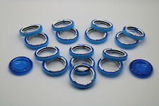 Habitrail Parts and Accessories Bundle (2 Tubes 5 Elbows 3 Cubes 15 Rings etc)