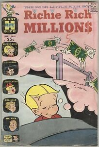 Richie Rich Millions #4 March 1963 G/VG Giant Size