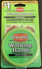 New Okeeffes Working Hands Hand Cream 2.7 Oz (1 Jar ) Brand New