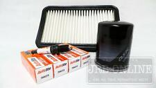 SUZUKI SWIFT M15A M16A 02/2005 TO 02/2011 OIL AIR FILTER  & SPARK PLUG KIT