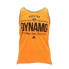 Houston Dynamo Official MLS Adidas Kids Youth Girls Size Tank Top Shirt