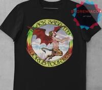 B-lack S-abbath Men's Album Black Cotton Tshirt  Size S-2XL  Unisex New Design
