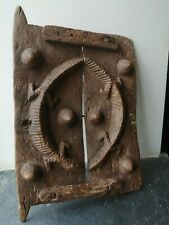 More details for early 20th century wooden dogon door