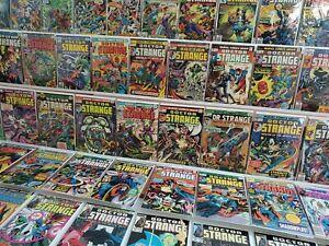 Doctor Strange #1-81 Full Run Lot Frank Brunner Dormammu Shuma Gorath HI GRADE