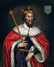 Alfred el gran rey de Wessex anglo Saxon retrato de Inglaterra 6x5 pulgadas impresión