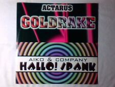 "ACTARUS Goldrake - AIKO & COMPANY Hallo! Spank 12"" RARISSIMO VERY RARE"