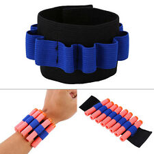 New Bullet Dart Ammo Storage Wrist Belt Band Strap for Nerf N-strike Blaster Gun