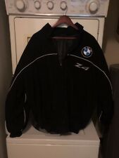 BMW Z4 Racing Jacket Black.Blue /Silver Embroidered As New!