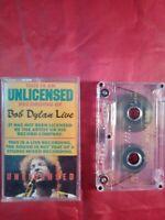 Cassette Tape Bob Dylan Live An Unlicensed Recording Rare