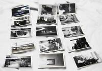 15 Vintage 1940s Wisconsin Estate Photographs - 2-5/8 x 3-5/8 Inch Photos