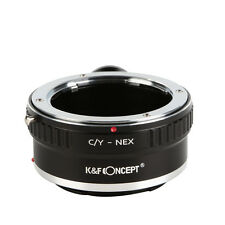 for Contax Yashica C/Y Lens to Sony E Mount Camera NEX-VG10 Adapter w/ Tripod