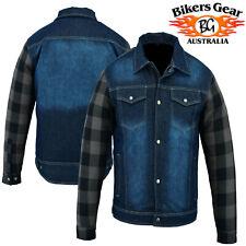 Australian BG Waterproof Motorcycle Denim Jacket Fully lined with DuPontKEVLAR®