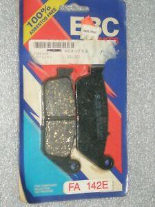 EBC Frittées Avant et arrière Disque de frein Pads 3 Sets Honda VFR750 1988 To 1997